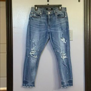 Express Croped Jeans